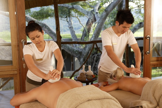 как делать тайский массаж видео