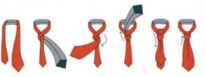 как следует завязывать галстук фото