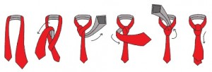Что нужно делать, чтобы завязать галстук быстро