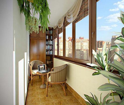 Как украсить балкона своими руками