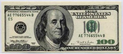 Кто изображен на 100 баксах