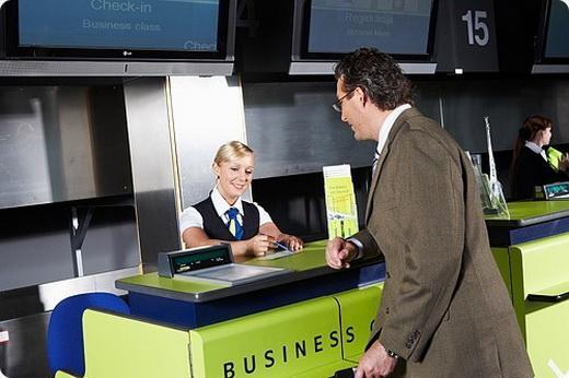 Регистрация на рейс у стойки