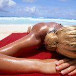 Как принимать солнечные ванны