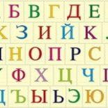 Сколько букв в русском алфавите